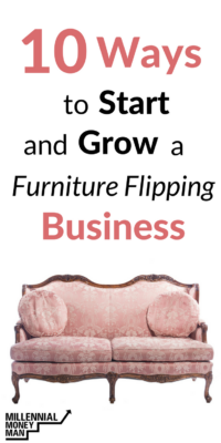 how to start a side hustle, how to make extra money, start a business, tips for flipping furniture, how to start a furniture flipping business, make money from home, ideas to make money, make money on the side, side hustle ideas, #sidehustle #extraincome, #startabusiness