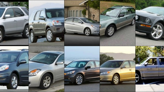 10 Used Cars You Can Buy For Under $10,000