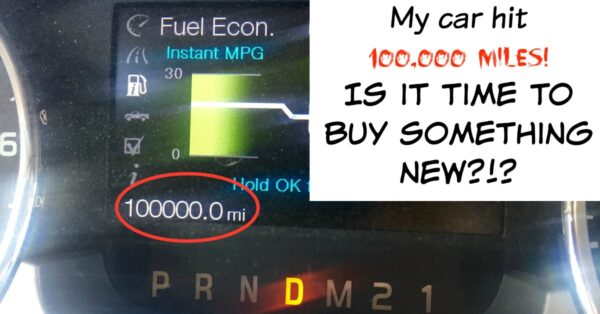 """My car hit 100,000 miles. Is it time to buy something new?"""