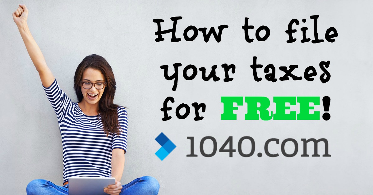How to File Free Tax Returns with 1040.com!