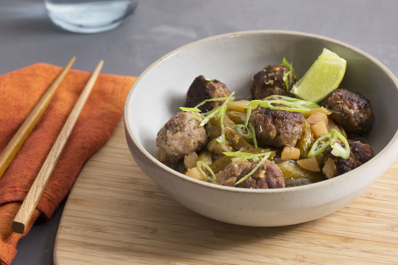 Blue Apron Review - Vietnamese Meatballs