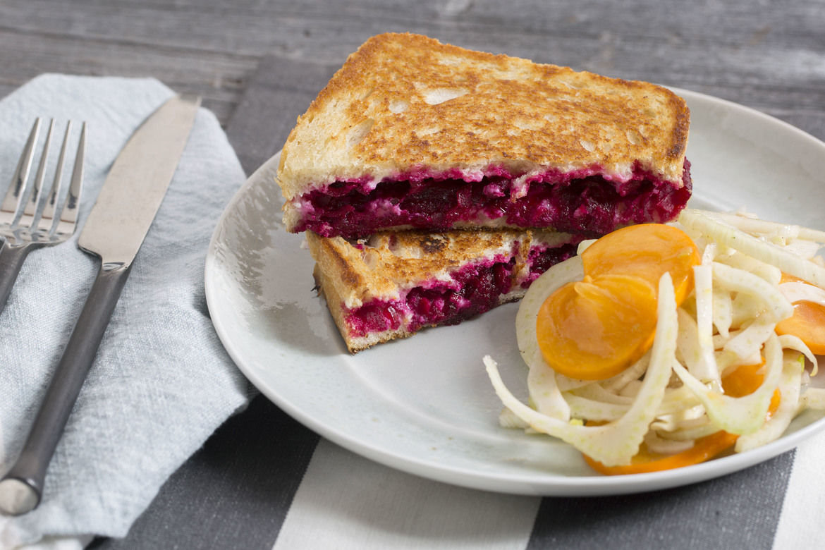Blue Apron Review - Grilled Cheese
