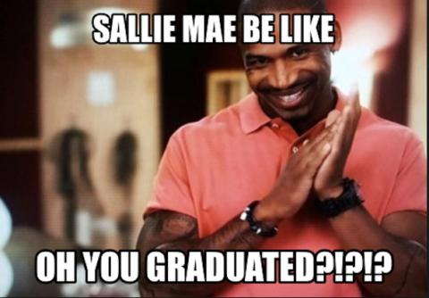 Graduate? Nah, not me.