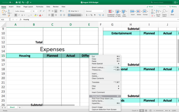 How to Make a Budget In Excel: How-To Guide and Free Templates!