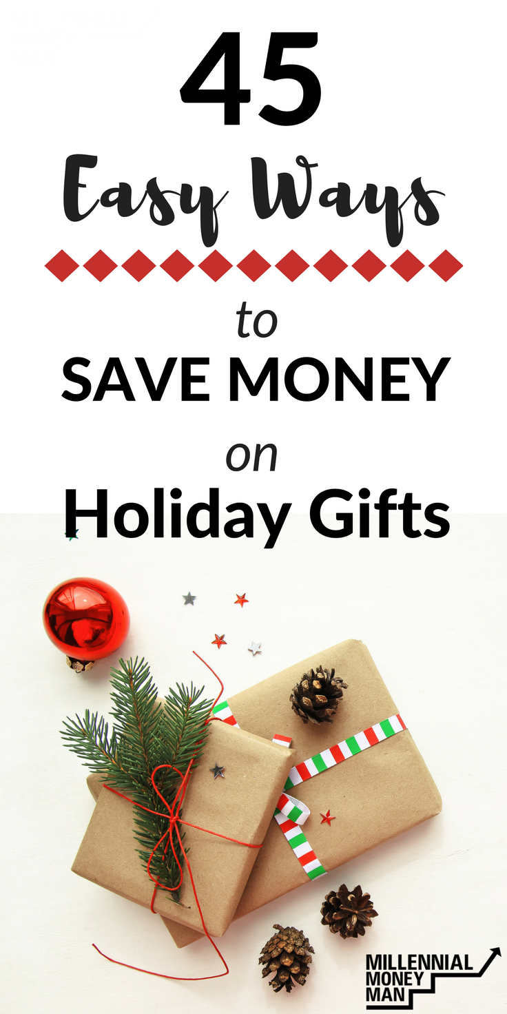tips to save money, save money on gifts, easy ways to save money, simple ways to save money on gifts, save money on Christmas gifts, #savemoney, #gift ideas