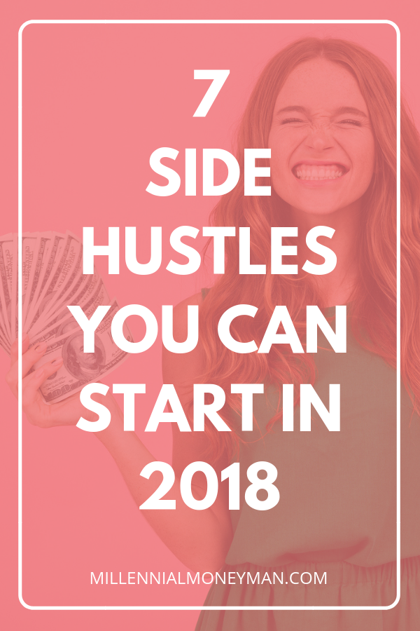 Click through to learn about ways to make money online from home and side hustle ideas so you can make extra money to pay off debt or start saving. #sidehustle #makemoney