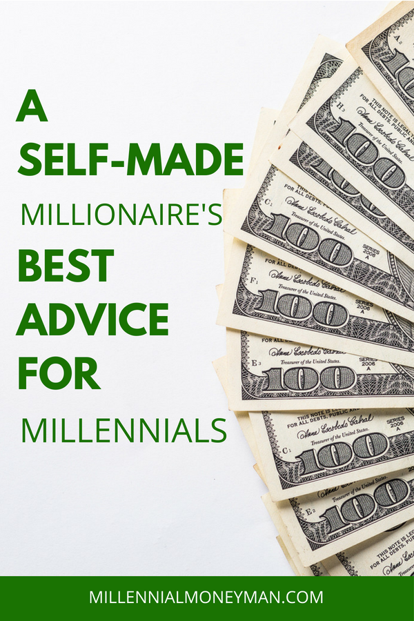 Click to read tips and advice for millennials from a self-made millionaire who has achieved financial independence and retired early thanks to flipping houses and investing. #financialindependence #retireearly