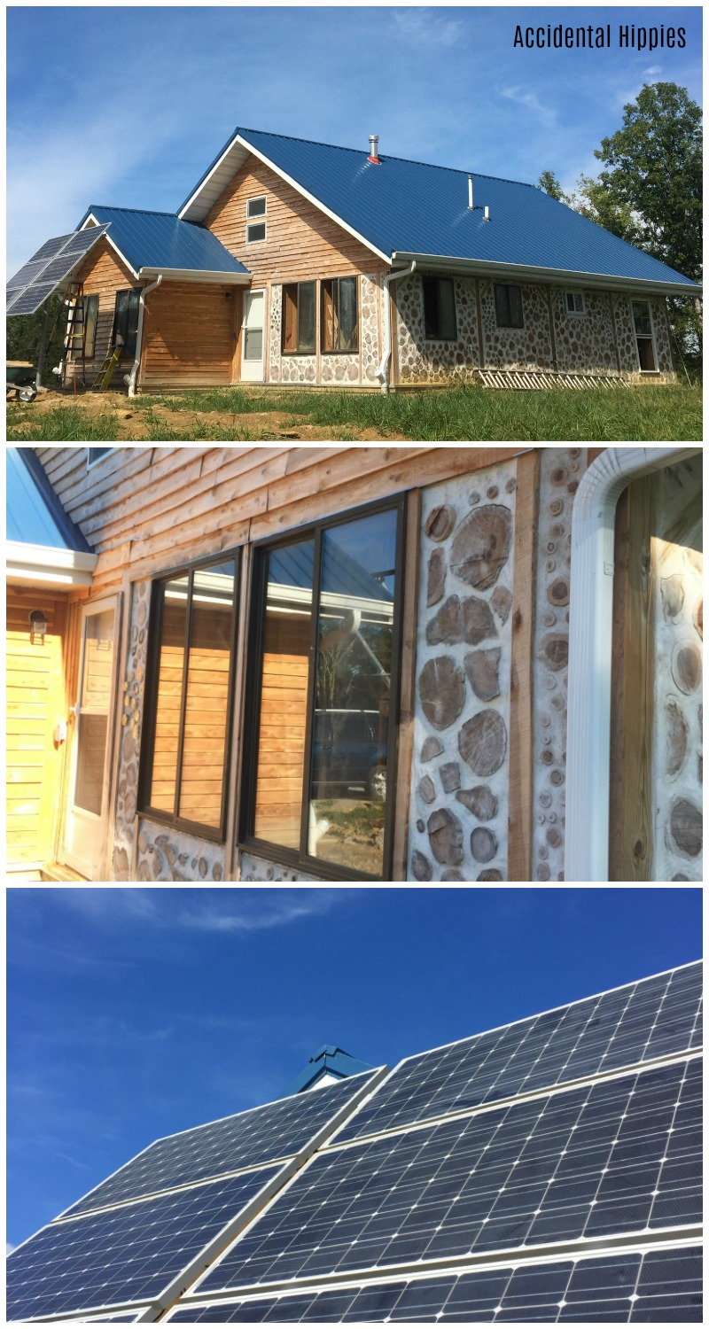 Building an off-grid home