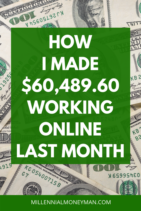 Here's how I make money from home on my laptop with my two successful multiple successful online businesses. #incomereport #makemoneyonline