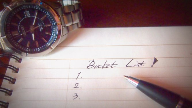Making Financial Bucket Lists