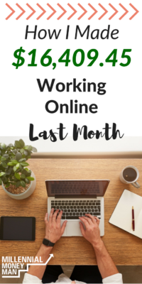 Check out my income report to view the details of how I made $16,409.45 working from home last month. #incomereport