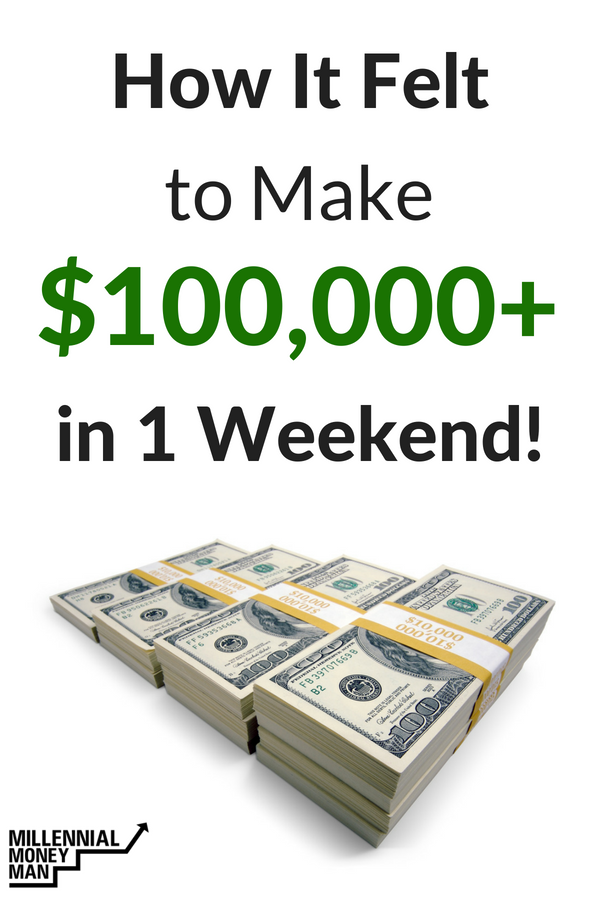 Click to read my thoughts on money and happiness, building financial success, and money lessons for real life as I made more than $100,000 online in one weekend course launch. #makemoneyonline