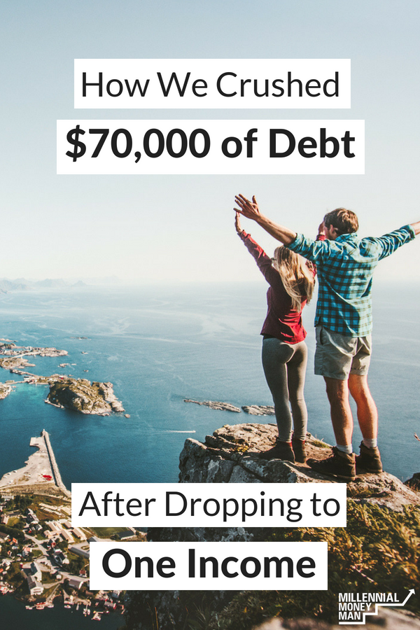 Click to read this incredible debt payoff story for inspiration and tips on getting out of debt, paying off your student loans, and budgeting. #getoutofdebt #studentloans