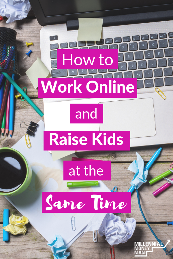 Click to learn tips, advise, and what life is like for Melissa who works from home online while raising three kids with one on the way. #workfromhome