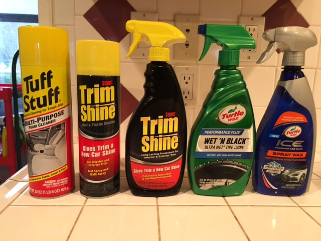 Products you can use to clean your car before you sell it