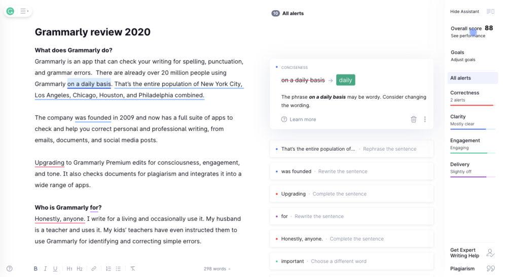 Revisão gramatical 2020 | Este verificador gramatical vale a pena? 10