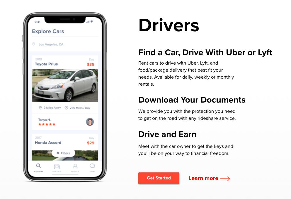 HyreCar Phone Application