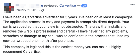 Carvertise Review