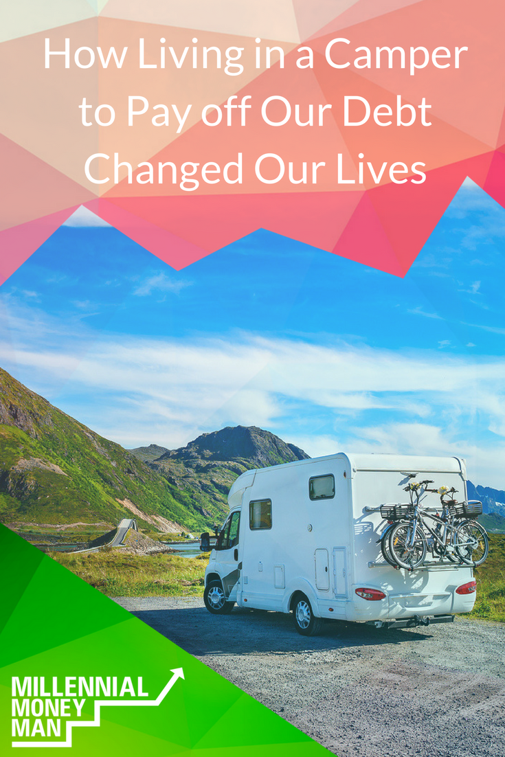 This couple lived in a camper to pay off their student loan debt! Read about their path to debt freedom and what it was like to live in a camper.