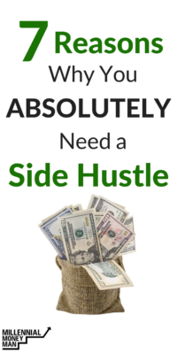 In my opinion, everyone should have a side hustle to make extra money. Side hustles can help you make money from home, pay off student loans or consumer debt, invest, or start saving. Click to read why you should have a side hustle and how one can help you reach your financial goals. #makemoneyonline #sidehustle