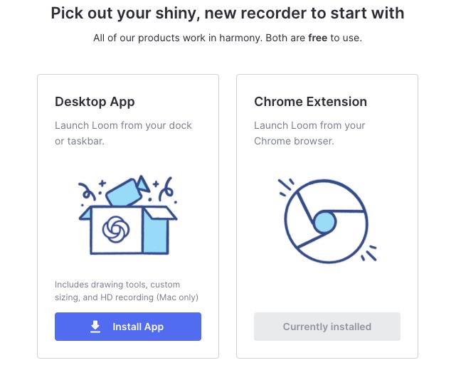 Loom Desktop App