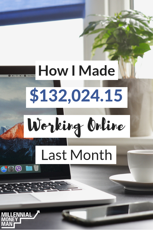 Click to read how I made money online last month by blogging, selling online courses, digital marketing, and affiliate income. #incomereport #makemoneyonline