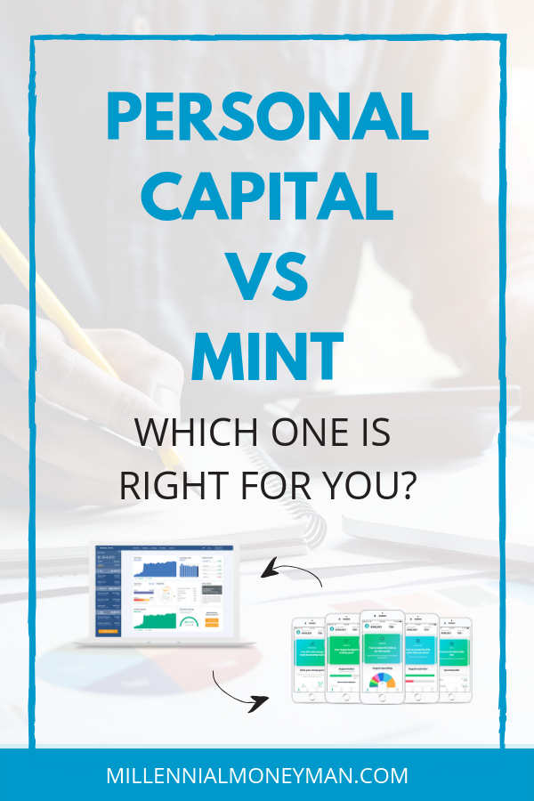 Budgets, spending, investing, and retirement planning, Mint and Personal Capital have the tools you need to track of your money. But, which is best for you? #moneymanagement #moneyapps