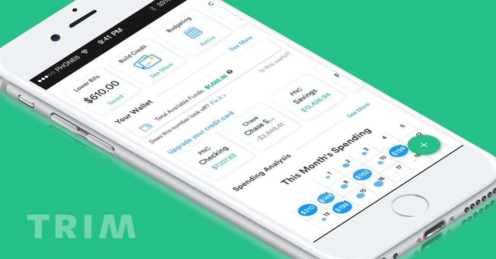Trim App Dashboard