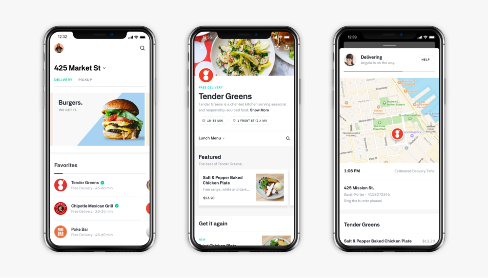 Postmates Delivery App