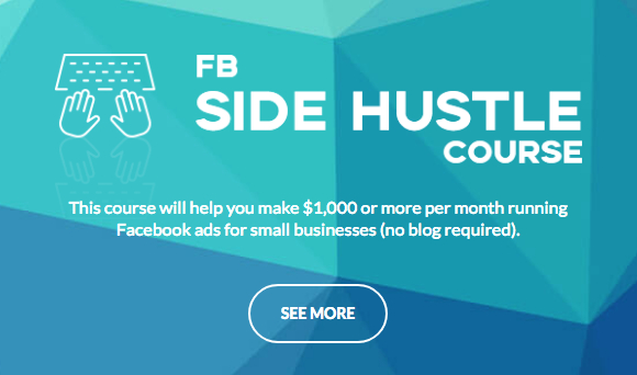 Facebook Side Hustle Course