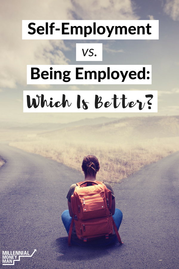 Having my own online business and working from a computer at home is perfect for me. Click through to read the pros and cons and learn if the self-employment life is right for you.