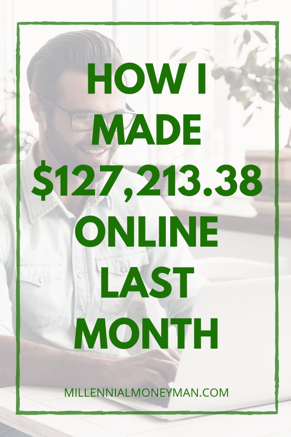 Learn how I make money online in September 2018 from home with a detailed report of my business and blogging income. #incomereport #makemoneyonline
