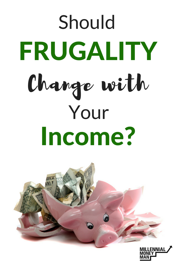When you start to reach your financial goals, it's hard to know whether you should stick to frugal living and saving money or if you should reward yourself for your success in personal finance.