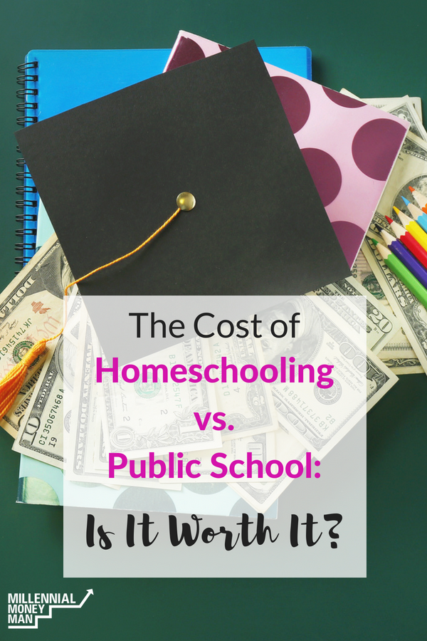 Click through to read one mom's thoughts on the financial and emotional costs of homeschool vs. public school.