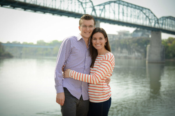 Andrew Argue and his wife enjoying their debt freedom.