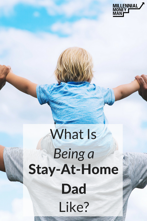 Click to get an idea of what life is like for this stay-home-dad who runs his online business from home. #workfromhome