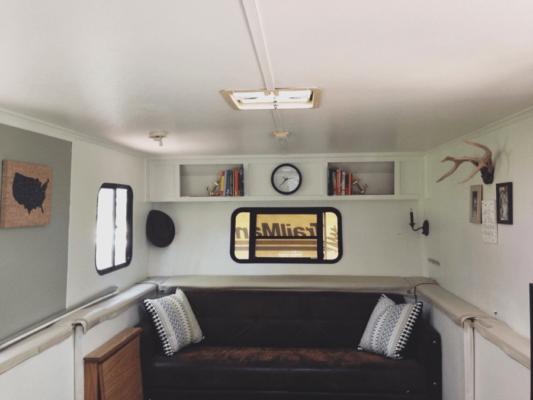 Inside of Camper