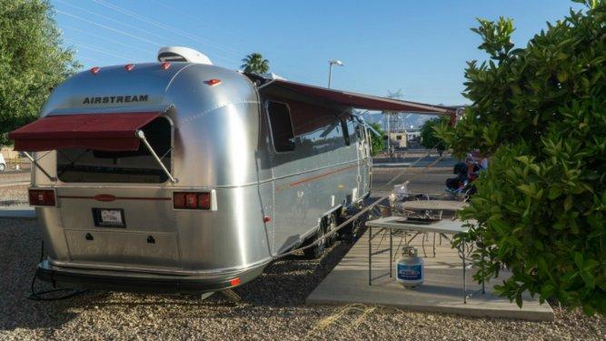 Airstream Trailer - Living in an RV