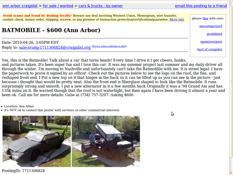 Three Ways Craigslist Car Sellers Try To Trick You