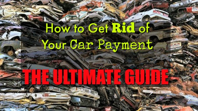 rid of car payment
