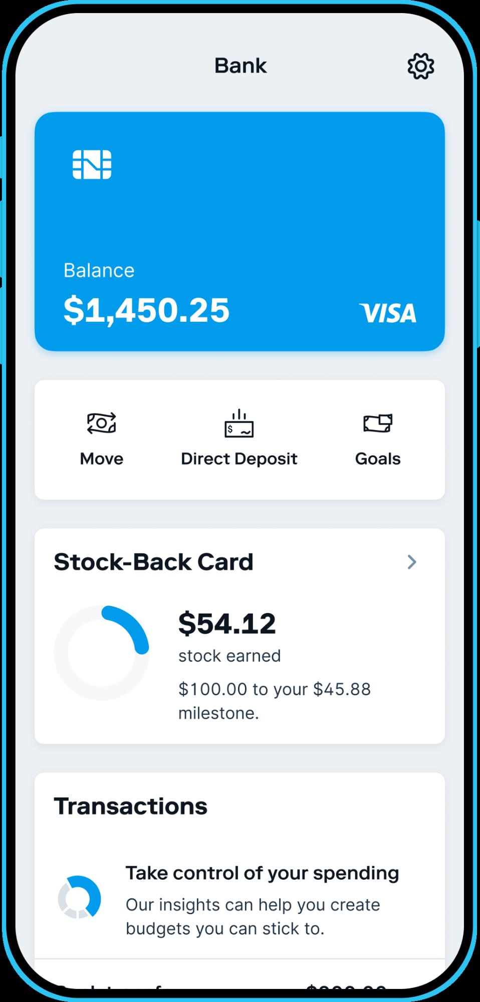 Stash's Stock-Back program