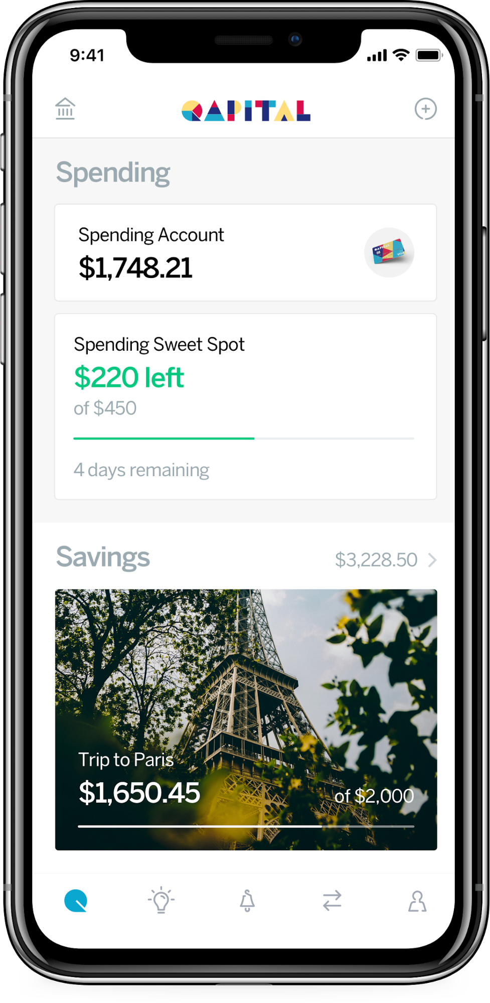 Qapital Mobile App