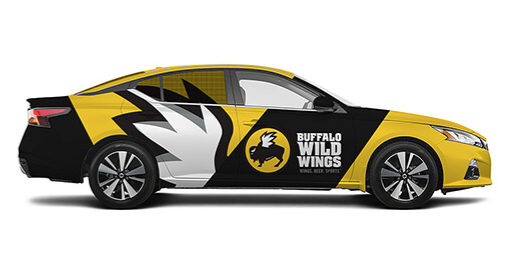 Carvertise - Buffalo Wild Wings car