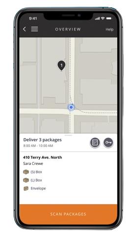 Amazon Flex app