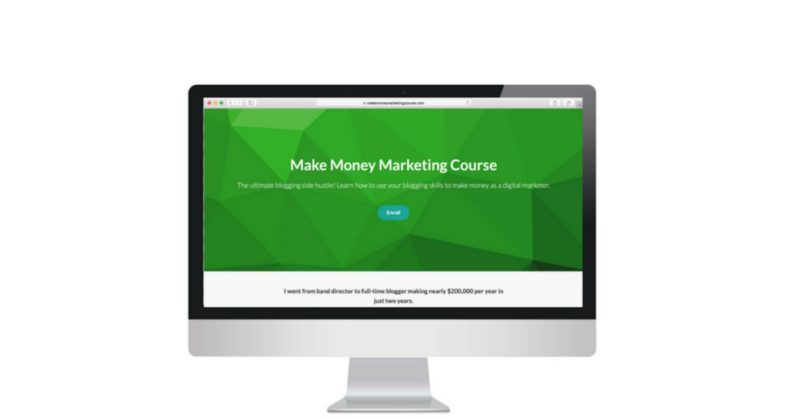 The Make Money Marketing Course for bloggers is LIVE!